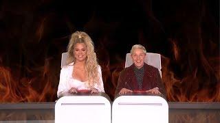 Khloe Kardashian Answers Ellen's Burning Questions width=