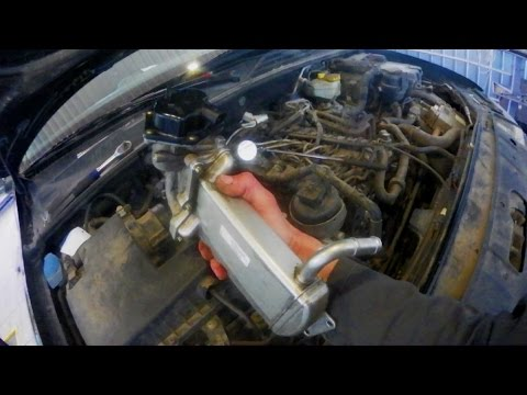 VW Amarok Чистка клапана рециркуляции отработавших газов