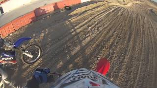 getlinkyoutube.com-2014 New year Practice at Dubai Motocross Track