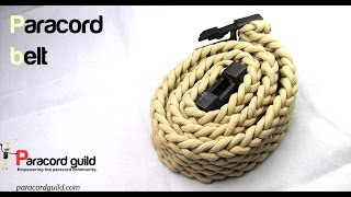 getlinkyoutube.com-How to make a paracord belt