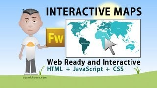 getlinkyoutube.com-Interactive World Map Tutorial HTML JavaScript PHP Fireworks Continent Country
