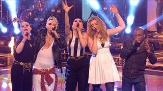 getlinkyoutube.com-Jessie and her team: 'We Are Young' - The Voice UK - Live Show 4 - BBC One