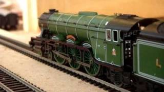 getlinkyoutube.com-Hornby live steam Flying Scotsman