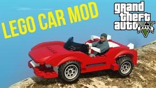 getlinkyoutube.com-GTA 5 PC Mods - AMAZING Lego Car Mod! Showcase and Funny Moments! (GTA V PC Mods)