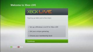 getlinkyoutube.com-How to Join XBOX Live [XBOX 360 V2]