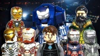 getlinkyoutube.com-LEGO Marvel : Iron Man 3 Minifigures - Showcase