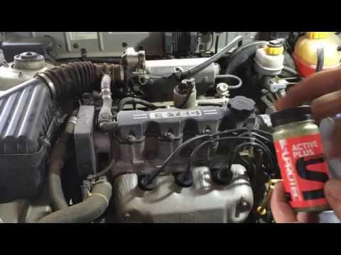 Шевроле Ланос 1,5  2006 года  меняем масло, фильтра и заливаем супротек  Chevrolet Lanos  SUPROTEC