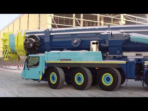 Kolla på video LTM 1500 SVEN JINERT kommer rulland på youtube