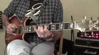 Blue Jean Blues Guitar Cover - Jam (ZZ Top)