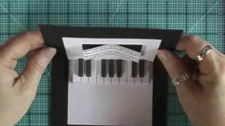 getlinkyoutube.com-Pop-Up Card with Piano Keyboard