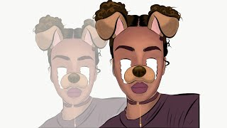 Adobe Draw   Animated Cartoon - step by step