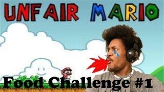 HOT SAUCE | Food Challenge #1 | Unfair Mario