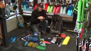 getlinkyoutube.com-Backcountry Skiing with JANS.com: What To Pack In Your Backcountry Pack