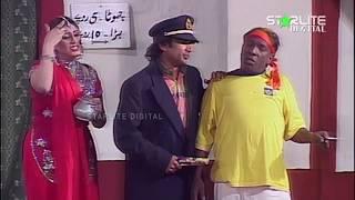 Sakhawat Naz and Asha Choudhary New Pakistani Stage Drama Full Comedy Clip