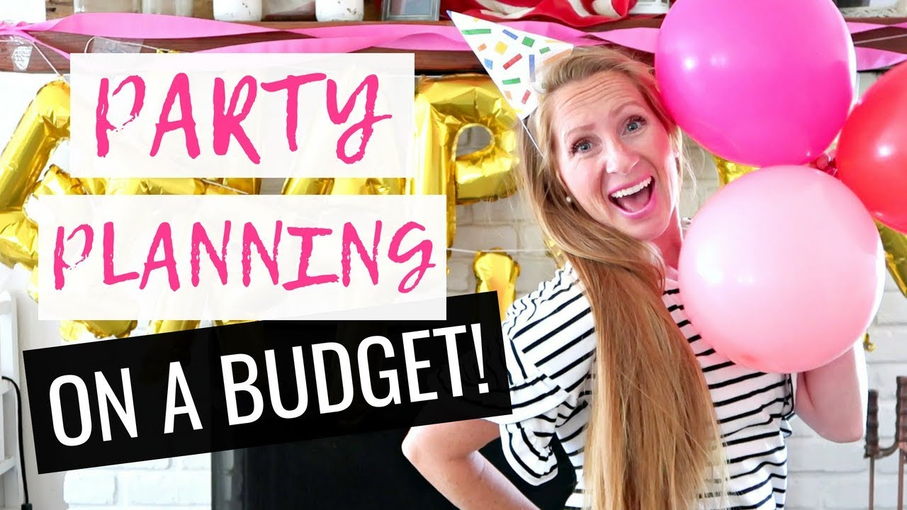 How to Throw an Unforgettable Party on a $50 Budget!