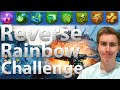 The Reverse Rainbow Perk Challenge.... Not Even Once Origins: Black Ops 2 Zombies