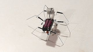 getlinkyoutube.com-How to make a simple walking insect robot