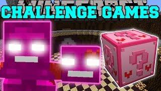 getlinkyoutube.com-Minecraft: VALENTINE WITHER CHALLENGE GAMES - Lucky Block Mod - Modded Mini-Game