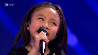✅Helene Fischer Show 2017 Celine Tam - You Raise Me Up