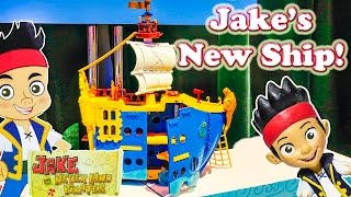 getlinkyoutube.com-JAKE AND THE NEVER LAND PIRATES Disney Jake Captain Jake Video Toy Review