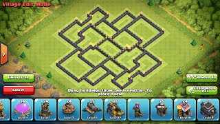 getlinkyoutube.com-CV9 Farming Layout 2015 - Dispersor Aéreo - Clash of Clans