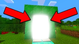 New Portal in Minecraft Pocket Edition (1.0.5+)