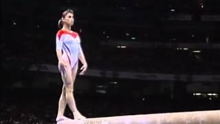 Lavinia Milosovici - Atlanta 1996 Olympics - Team Final - Beam