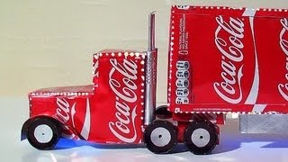 getlinkyoutube.com-How To Make Coca Cola Truck Christmas Decoration