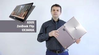 Prezentare: ASUS ZenBook Flip UX360UA