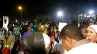 البشير في عرس بت وداد