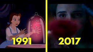 getlinkyoutube.com-Beauty and the beast - 1991 vs 2017 comparison