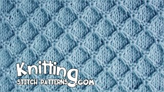 getlinkyoutube.com-Diamond Honeycomb stitch