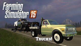 getlinkyoutube.com-Farming Simulator 2015: Mod Spotlight #37: More Trucks!