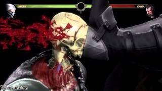 getlinkyoutube.com-Mortal Kombat 9 All   -   X RAY MOVES