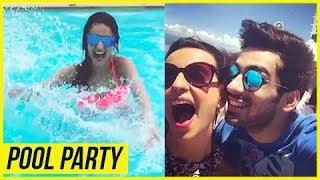 Sanaya Irani's POOL BIRTHDAY Surprise By Hubby Mohit Sehgal