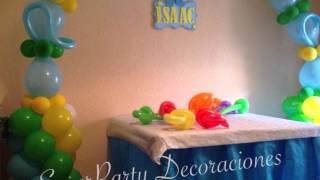 getlinkyoutube.com-Decoración de Pocoyo  con globos - SP DECORACIONES