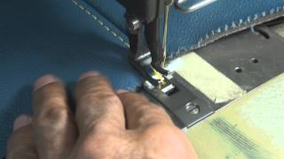 getlinkyoutube.com-LEATHER UPHOLSTERY- French-Seams Tips