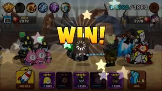 getlinkyoutube.com-LINE RANGERS Battle 6/6  by CONY