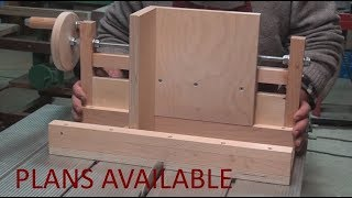 Box Joint Jig for Table Saw: Rebuilt and improved:  pt2