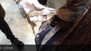 第3回 美容師チャレンジ番外編『ブリーチで作るグラデーションカラー』
