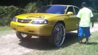 getlinkyoutube.com-Custom Woodgrain Impala on 30s