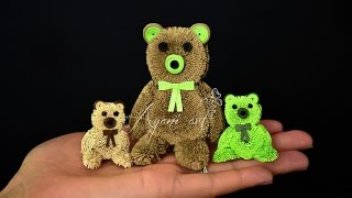 getlinkyoutube.com-Quilling Teddy Bear Tutorial