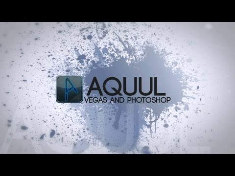 Sony Vegas Pro 12 Intro Template: Grunge Splatter