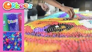 getlinkyoutube.com-Biggest Orbeez Art Ever! | Official Orbeez