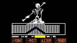 getlinkyoutube.com-Disbelief Papyrus (Fanmade Undertale Fight Animation)