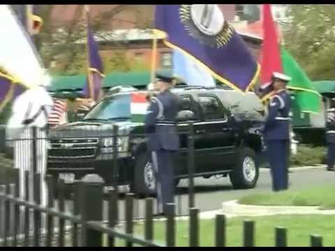 PM Modi arrives at the White House for Talks with US President Barack Obama