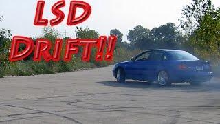 getlinkyoutube.com-Audi S4 Drifting, Powerslides, and Donuts After Adding Porsche Rear LSD...