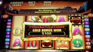 getlinkyoutube.com-Prosperity Gold coin Jackpots Slot Progressive win!