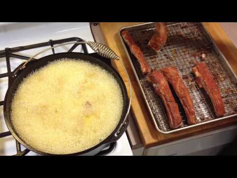 Deep-Fried Ribs