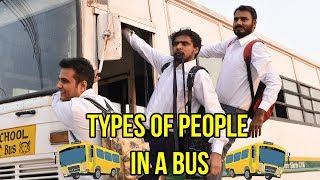Types Of People in a Bus - Amit Bhadana